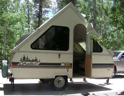 Hard Body Pop Up Camper http://pitchyourtent.com/tag/tent-trailers/