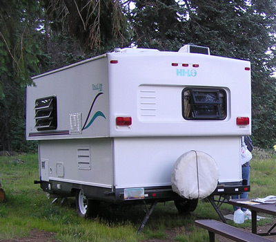 Hard Body Pop Up Camper http://pitchyourtent.com/category/trailers-rvs/